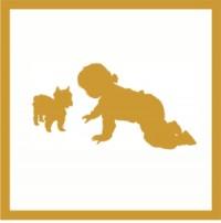 Kind und Hund - auf Anfrage